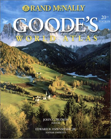 Goode's World Atlas (Atlases - World)