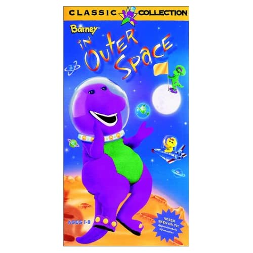 Amazon.com: Barney - Barney in Outer Space [VHS]: Bob West, Julie