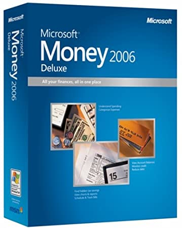Microsoft Money 2006 Deluxe [OLD VERSION]