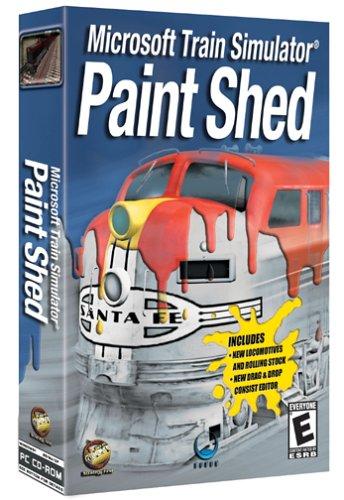 Paint Shed: Microsoft Train Simulator Add-On