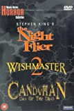 Nightflier/Wishmaster 2/Candyman 3 [DVD]