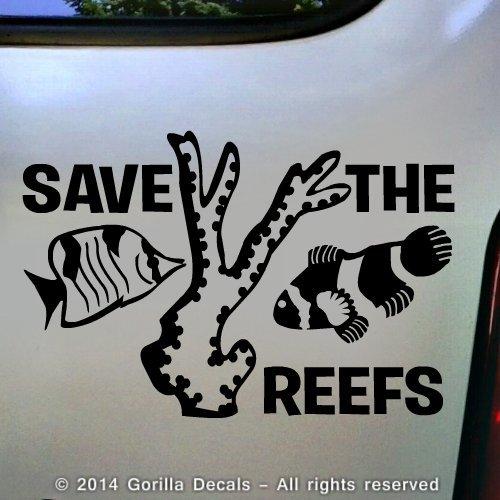 meegyn-save-the-reefs-fish-ocean-marine-greenpeace-vinyl-decal-sticker-wall-car-window-laptop-sign-b