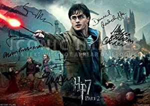 Fiennes Alan Rickman: Harry Potter Posters Signed: Posters & Prints