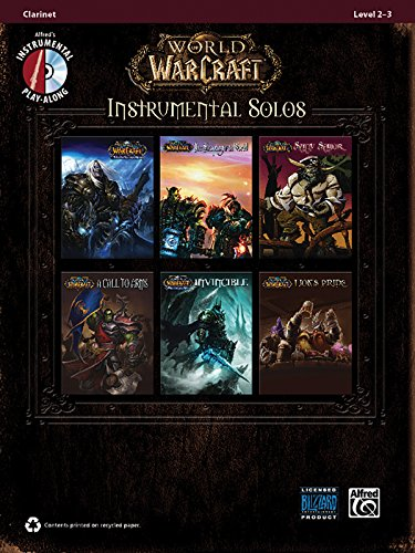 World of Warcraft Instrumental Solos: Clarinet, Book & CD (Pop Instrumental Solo Series)