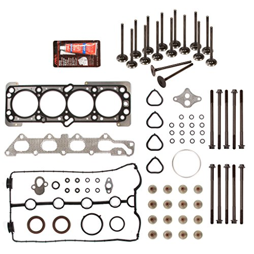 Evergreen HSHBIEV8-10416L Head Gasket Set Head Bolts Intake Exhaust Valves Fit 06-08 Chevrolet Aveo Aveo5 1.6L 98CID DOHC 16V VIN 6 (Intake Chevrolet Aveo compare prices)