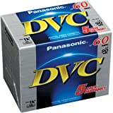Panasonic AY-DVM60EJ5P MiniDV Tapes (60 Minute, Pack of 5) Reviews