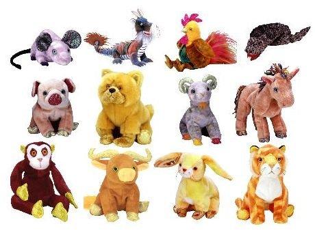Ty's zodiac Beanie Babies