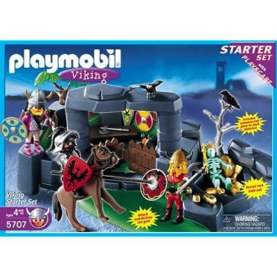 Amazon.com: Playmobil 5707 Viking Knights Attack Starter Set