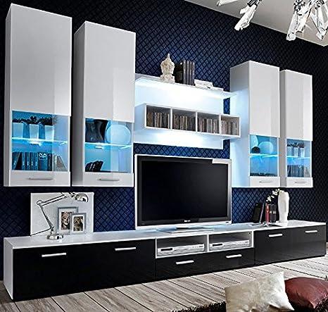 Muebles Bonitos – Mueble de salón Arlesa blanco 3M