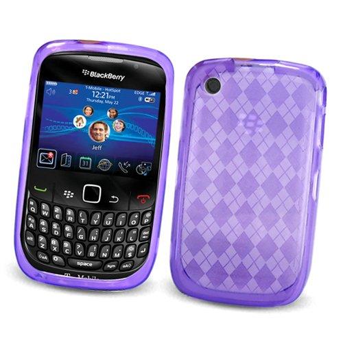 BlackBerry Curve 3G 9300 (T-Mobile) & Gemini Curve 8520 & 8530 Crystal Silicone Skin Case