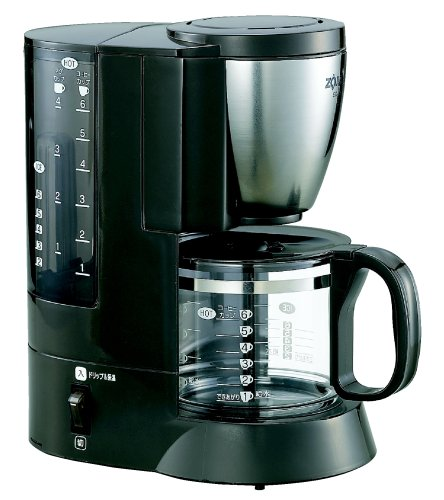 Zojirushi Coffee Maker Coffee Experts [Cup Approximately 1 ~ 6 Tablespoons: Stainless Ec-Aj60-Xj Brown front-567643