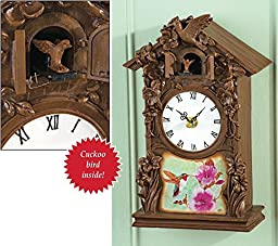 Hummingbird Cuckoo Wall Clock