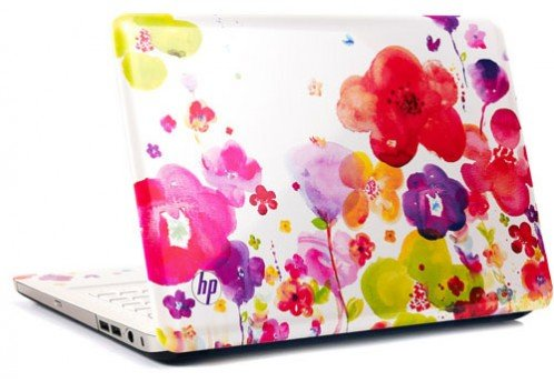 NEW HP Pavilion dv5-2129wm Garden Dreams Laptop ~ AMD Turion II P540 2.4GHz / 4GB RAM / 500GB HD / 14.5