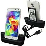 samsung galaxy s4 dock charger with spare battery slot, desktop dock charger for samsung galaxy s4, s4 i9500 with
