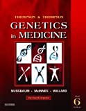 Thompson & Thompson Genetics in Medicine, Revised Reprint, 6th Edition