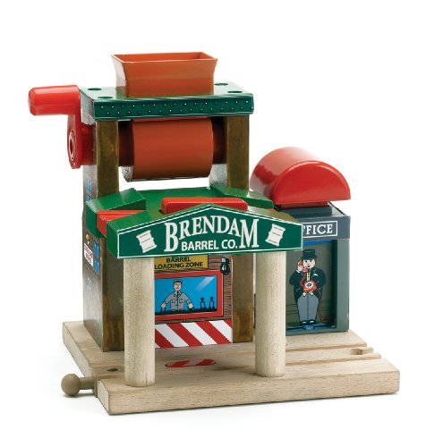Thomas & Friends Wooden Railway- Talking Railway Brendam Barrel Co. - 1