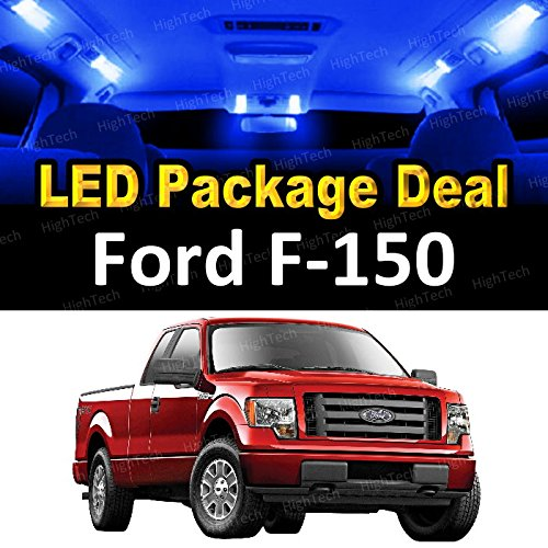 Led Interior Package Deal For 2009 Ford F-150 (8 Pieces), Blue