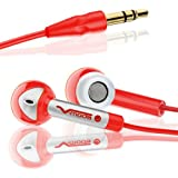 V-MODA Bass Freq In-Ear Stereo Headphone (Rocker Red) (Discontinued by Manufacturer)