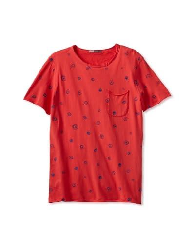 Drifter Men's Dupe Shirt  [Poinsettia]