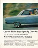 "1965 Chevrolet Ad ""Chevelle Malibu"" ~ (model year 1965)"
