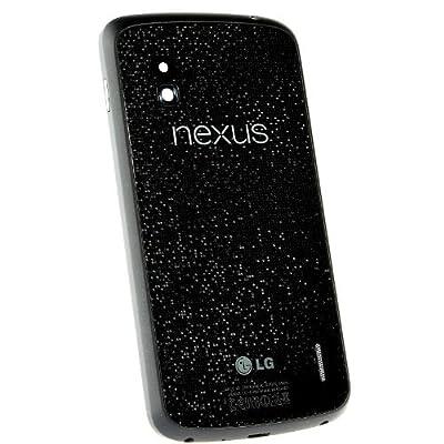 Original Back Battery Cover Rear Glass Door Housing Repair for LG Google Nexus 4 by LG