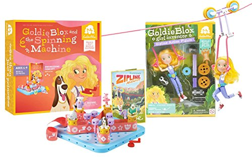 GoldieBlox Zip line and Spinning Machine - 1