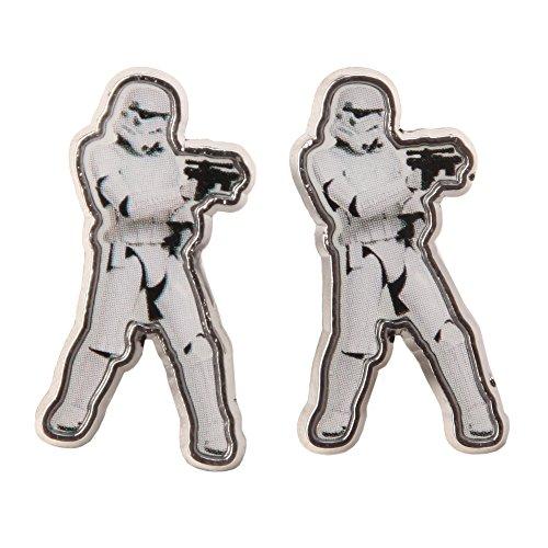 Star Wars Storm Trooper Cutout Earrings