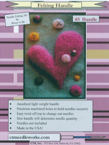 CTR Punch Needle Embroidery Felting Handle - Number 3
