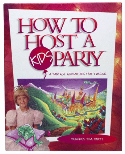 How to Host a Kid's Party: Princess Tea Party