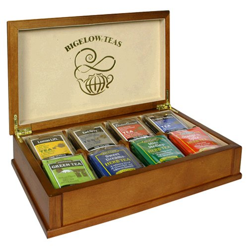 Buy Bigelow Tea Chest, Variety Pack of Eight Flavors, Tea Bags, 64-Count Chest (Bigelow, Health & Personal Care, Products, Food & Snacks, Beverages, Tea)