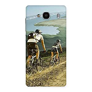Enticing Bycycle View Back Case Cover for Redmi 2s