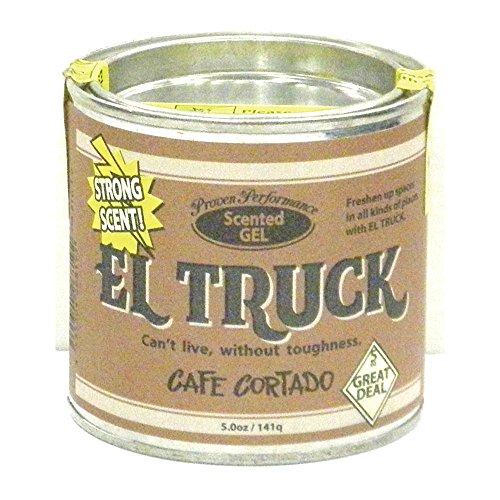 ノルコーポレーション 芳香剤 EL TRUCK ジェル エアーフレッシュナー CAFÉ CORTADO OA-ETG-1-8