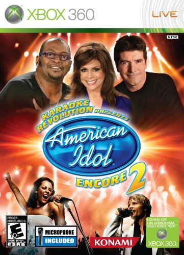 516BbcTtPpL Karaoke Revolution: Presents American Idol Encore 2 with Microphone