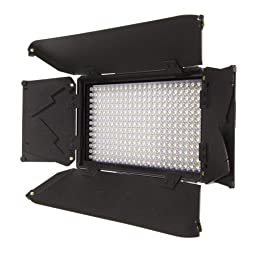 Ikan iLED312-SB Bi-Color LED Spot Light (Black)