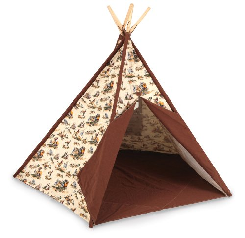 Pacific Play Tents Cowboy Tee Pee front-216222
