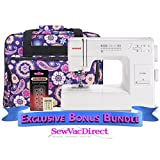 Janome HD3000 Sewing Machine with Exclusive Bonus Bundle