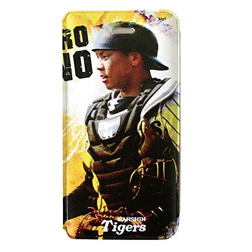 阪神タイガース iPhone6/6s ブックタイプケース (44.梅野隆太郎)
