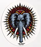 Powell Peralta Skateboard Sticker - Mike Vallely Official Reissue Elephant New