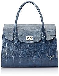 Baggit Women's Satchel (Blue)