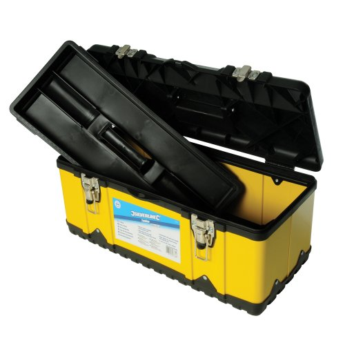 Sale alerts for Silverline Silverline 196114 582 mm Toolbox - Covvet