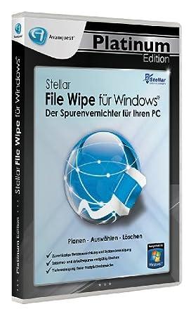 Stellar File Wipe für Windows - Der Spurenvernichter für Ihren PC