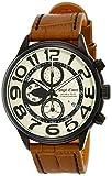 [エンジェルクローバー]Angel Clover 腕時計 ダブルプレイ アイボリー文字盤 10気圧防水 DP44BSB-LB メンズ
