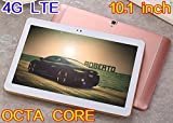 10.1 inch Tablet Octa Core 1280800 IPS Bluetooth RAM 4GB ROM 64GB 8.0MP 4G Dual sim card Phone Call Tablets PC Android 6.0 GPS electronics 4G LTE 7 9 10 Rose gold