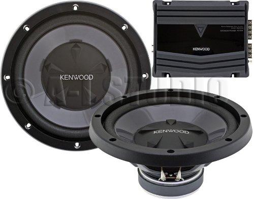 """Kenwood Pw-1220 12"""" Bass Party Pack, 350W Max Power (Kac-5206 + Kfc-W112S 2Pcs) Pw1220"""