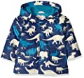 Hatley Baby Boys' Infant Silhouette Dinos Raincoat from Hatley