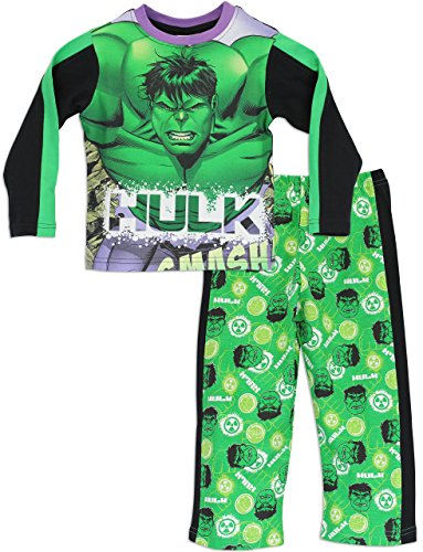 Character Boys' Marvel Avengers The Hulk Pajamas