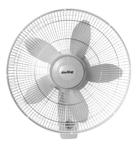 Check Out This Air King 9018 Commercial Grade Oscillating Wall Mount Fan, 18-Inch