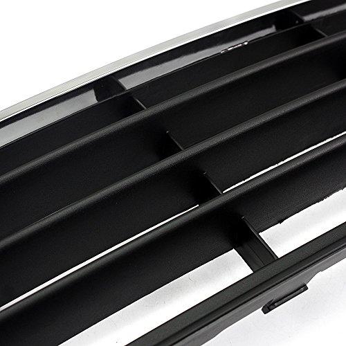 Neverland verchromt vorne unten Center Bumper Mesh Gitter für VW Jetta MK5GLS 05-09