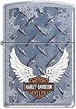 Harley-Davidson Cycle Diamondplate Zippo Lighter