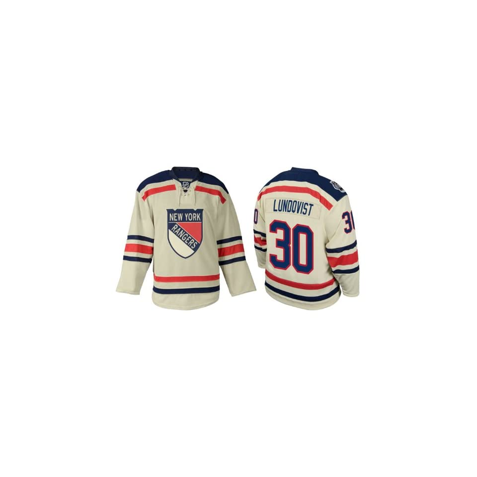 010155eec NHL Gear Henrik Lundqvist #30 New York Rangers 2012 Winter classic Jersey  Hockey Jerseys (Logos, Name, Number are sewn)